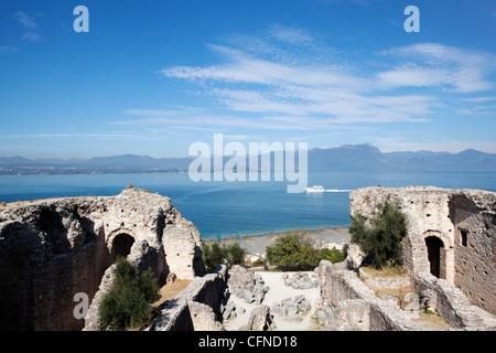 The Catullo's Villa (Grotte di Catullo), Lake Garda, Italy, Europe