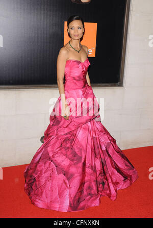 Thandie Newton Orange British Academy Film Awards afterparty held at the Grosvenor House - Arrivals. London, England - Stock Photo