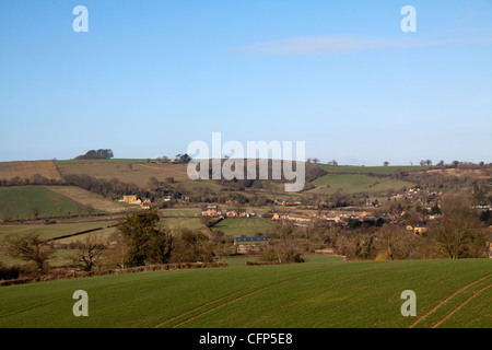 Sutton Lane Brailes - Stock Photo