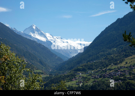 Val d'Herens, Valais, Switzerland, Europe - Stock Photo