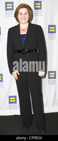 New York City Council Speaker Christine C. Quinn 2011 Greater New York Human Rights Campaign Gala - Arrivals New - Stock Photo
