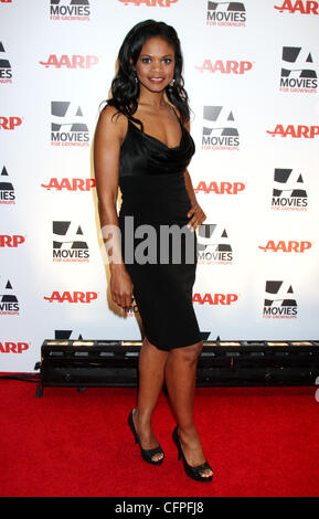 Kimberly Elise AARP The Magazine's 10th Annual Movies for Grownups Awards held at the Beverly Wilshire Hotel - Arrivals - Stock Photo