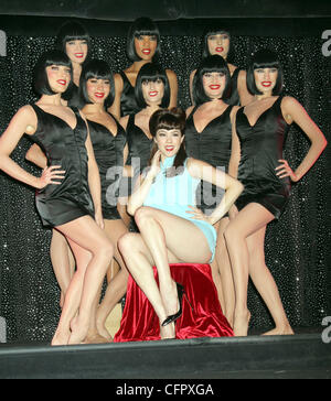 Claire Sinclair, Playboy's Miss October 2010,  to appear at the 'Crazy Horse Paris' in the MGM Grand Hotel and Casino - Stock Photo