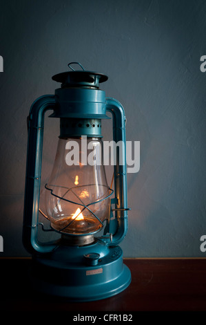 Hurricane lantern - Stock Photo
