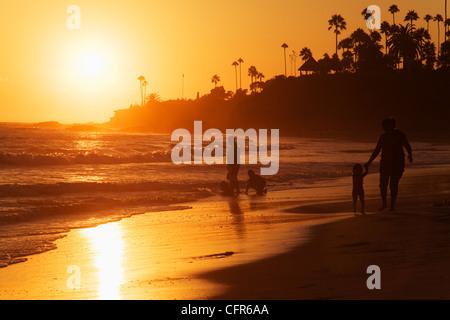 Laguna Beach, Orange County, California, United States of America, North America - Stock Photo