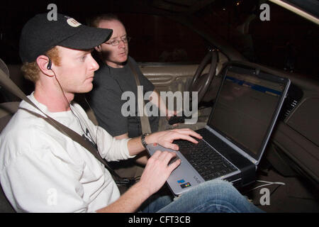 Dec 07, 2006; Los Angeles, CA, USA; The car the brothers use is a 2001 Black Ford Crown Victoria Police Interceptor. - Stock Photo