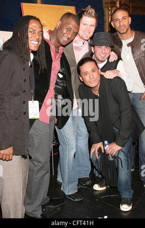 Dec 07, 2006; Los Angeles, California, USA; Singers MOSAIC          at the 2006 Grammy Award Nominations held at - Stock Photo