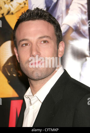 Jan 18, 2007; Hollywood, California, USA;  Actor BEN AFFLECK   at the 'Smokin Aces' World Premeire held at Grauman's - Stock Photo