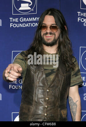 Feb 08, 2007 - Los Angeles, CA, USA - SHOOTER JENNINGS arrives at the Grammy Foundation 9th Annual Music Preservation - Stock Photo