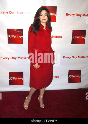 Feb 13, 2007 - New York, NY, USA - EMMY ROSSUM at the unveiling of J.C. Penny's new Brand Postioning (Credit Image: - Stock Photo