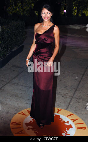 Feb 25, 2007 - West Hollywood, CA, USA - REBECCA GAYHEART arrives for the Vanity Fair Dinner And After Party at - Stock Photo