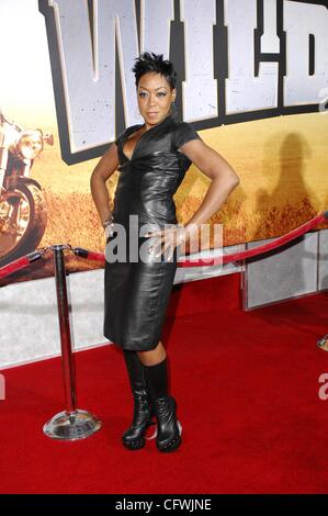 Feb. 27, 2007 - Hollywood, California, U.S. - LOS ANGELES, CA FEBRUARY 27, 2007 .Actress Tichina Arnold during the - Stock Photo