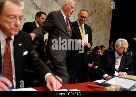 Mar 29, 2007 - Washington, DC, USA - Senate Judiciary committee chairman Senate Judiciary committee chairman PATRICK - Stock Photo