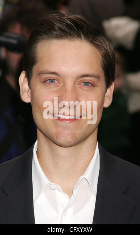 Apr 30, 2007 - New York, NY, USA -Actor TOBEY MAGUIRE from the cast of the new movie 'Spider-Man 3' at the 'Today' - Stock Photo