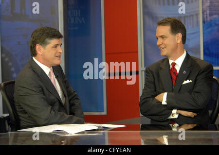 May 15, 2007  Columbia, SC; USA, Talk Show Host SEAN HANNITY and The Head of the South Carolina Republican Party - Stock Photo
