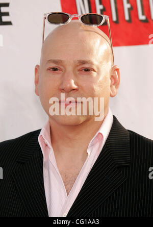 Aug 1, 2007 - Hollywood, California, USA - Actor EVAN HANDLER at the Premiere of Showtime's 'Weeds' and 'Californication' - Stock Photo