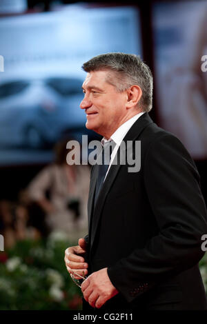 Sept. 8, 2011 - Venice, Italy - director Aleksandr Sokurov on the red carpet before premiere of the movie 'Faust' - Stock Photo