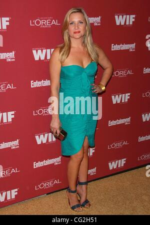 Sept. 17, 2011 - Los Angeles, California, U.S. - Jessica Capshaw.The 2011 Entertainment Weekly And Women In Film - Stock Photo