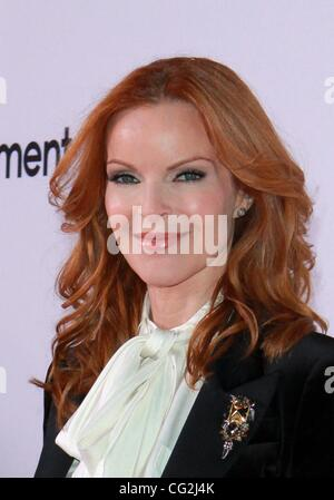 Sept. 22, 2011 - Los Angeles, California, U.S. - Marcia Cross.''Desperate House Wives'' The Final Season Kick  Off - Stock Photo