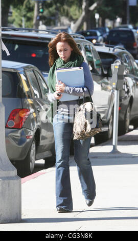 Charmant ... Jennifer Love Hewitt Leaving The Drybar In Studio City After Getting  Her Hair Blow Dried