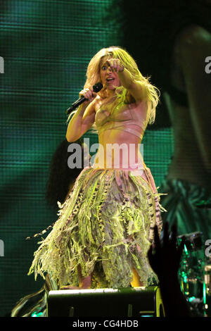 Shakira live in concert at Madison Square Garden New York City, USA ...