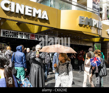 Horror Film characters attend Frightfest the 13th on Saturday 25th August 2012 at The Empire, Leicester Square, - Stock Photo
