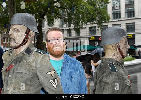 Comedian Frankie Boyle attends UK Premiere of 'Outpost 2: Black Sun' at Frightfest the 13th on Saturday 25th August - Stock Photo