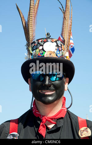 9th September 2012. London UK. The annual end of summer festival takes place across the weekend of 8-9 September - Stock Photo
