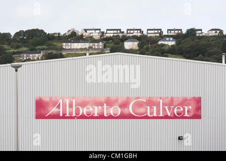 General view of the Alberto Culver factory in Swansea Enterprise park in Wales on Friday 14th September, 2012. The - Stock Photo