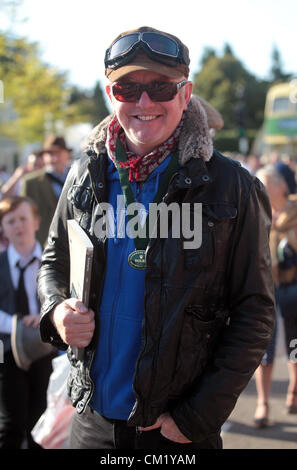 Goodwood Estate, Chichester, UK. 15th September 2012. Chris Evans, pictured at the Goodwood Revival. The revival - Stock Photo