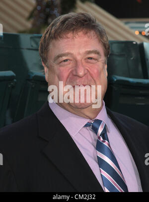 JOHN GOODMAN TROUBLE WITH THE CURVE. PREMIERE LOS ANGELES CALIFORNIA USA 19 September 2012 - Stock Photo
