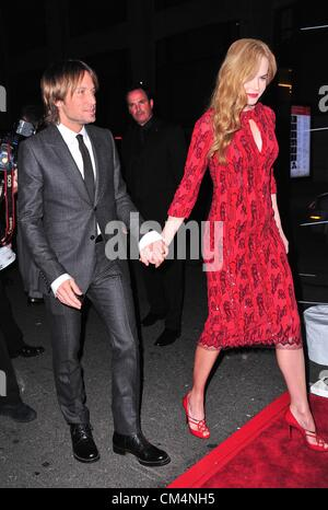 Keith Urban, Nicole Kidman at arrivals for The Film Society of Lincoln Center Gala Tribute to Nicole Kidman and - Stock Photo