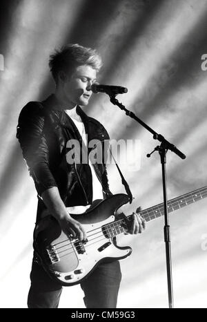 Sheffield - Girlguiding Big Gig 2012 - Lawson perform at the Motorpoint Arena, Sheffield, UK - October 6th 2012 - Stock Photo