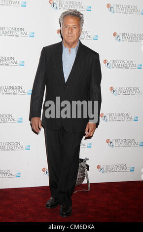 Dustin Hoffman at the  BFI London Film Festival Photocall for 'Quartet' at the Empire, Leicester Square, London - Stock Photo