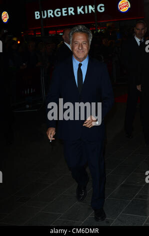 October 15th 2012: Director Dustin Hoffman at the UK Premiere of 'Quartet' Held in London's Leicester Square as - Stock Photo