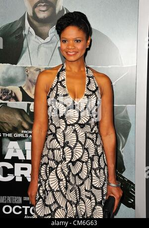 Oct. 15, 2012 - Los Angeles, California, U.S. - Kimberly Elise Attending The Los Angeles Premiere of ''Alex Cross'' - Stock Photo