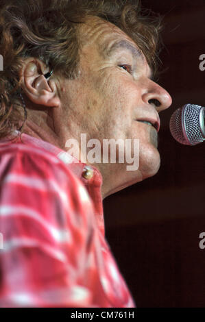 LINCOLN, CA – October 19: Henry Paul of Country rock band The Outlaws perform at Thunder Valley Casino Resort in - Stock Photo