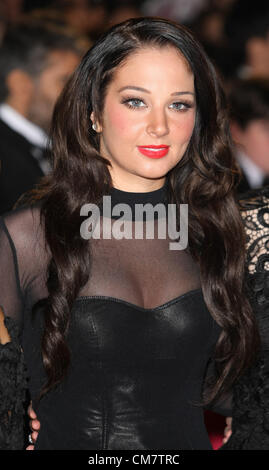 TULISA CONTOSTAVLOS SKYFALL.THE ROYAL WORLD PREMIERE LONDON ENGLAND UK 23 October 2012 - Stock Photo