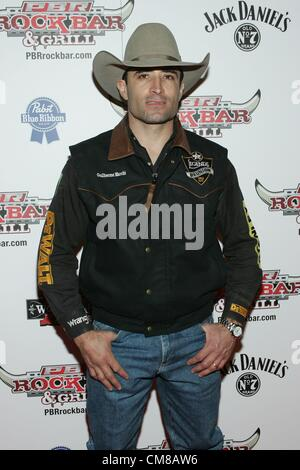 Guilherme Marchi at arrivals for Professional Bull Rider Superstars at PBR Rock Bar, Miracle Mile Shops at Planet - Stock Photo