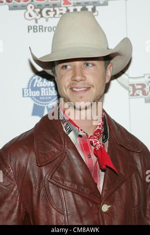 Cody Nance at arrivals for Professional Bull Rider Superstars at PBR Rock Bar, Miracle Mile Shops at Planet Hollywood - Stock Photo