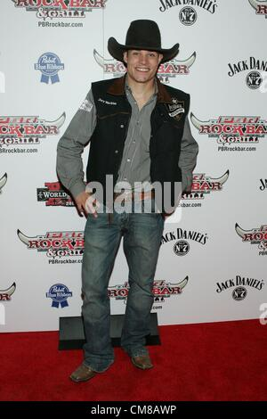 Jory Markiss at arrivals for Professional Bull Rider Superstars at PBR Rock Bar, Miracle Mile Shops at Planet Hollywood - Stock Photo