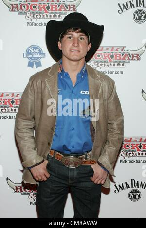 Ryan Dirteater at arrivals for Professional Bull Rider Superstars at PBR Rock Bar, Miracle Mile Shops at Planet - Stock Photo