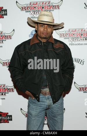 Davi Henrique at arrivals for Professional Bull Rider Superstars at PBR Rock Bar, Miracle Mile Shops at Planet Hollywood - Stock Photo