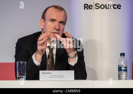 Oxford, UK. 13th July 2012. Sir Terry Leahy Former CEO Tesco plc, ReSource 2 day conference, discussing and challenging - Stock Photo