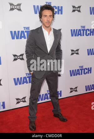Shawn Levy at arrivals for THE WATCH Premiere, Grauman's Chinese Theatre, Los Angeles, CA July 23, 2012. Photo By: - Stock Photo