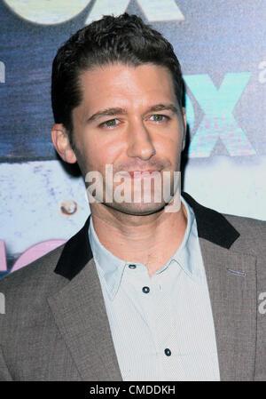 July 23, 2012 - Los Angeles, California, U.S. - Matthew Morrison  attends Fox-Allstar Party on 23rd July 2012  in - Stock Photo