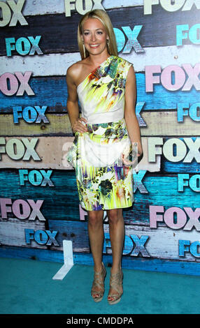 July 23, 2012 - Los Angeles, California, U.S. - Cat Deeley attends Fox-Allstar Party on 23rd July 2012  in West - Stock Photo
