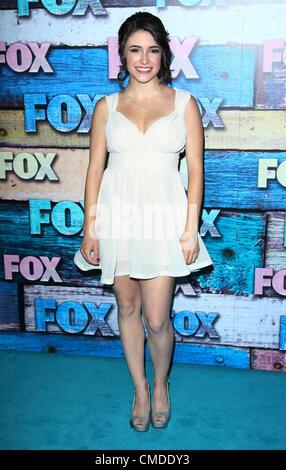 July 23, 2012 - Los Angeles, California, U.S. - Daniela Bobadilla  attends  Fox-Allstar Party on 23rd July 2012 - Stock Photo