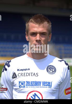 Stanislav Hofmann, soccer player, 1. FC Slovacko, July 25, 2012. (CTK Photo/Zdenek Nemec) - Stock Photo