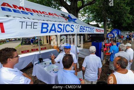 July 29 2012  Oceanport New Jersey US  Paynter ridden by